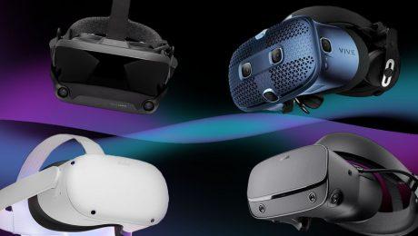 Comparativa gafas de realidad virtual HTC Vive Cosmos, Oculus Rift S, Oculus Rift Quest, Valve Index