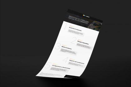 Ventajas Realidad Virtual aprendizaje infografia